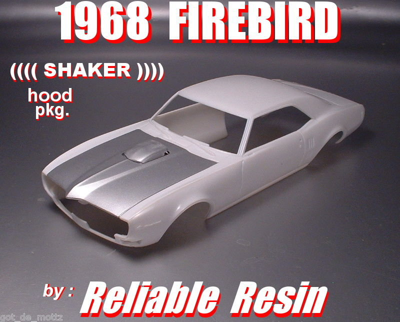 1968 Firebird Shacker Hood Pkg!