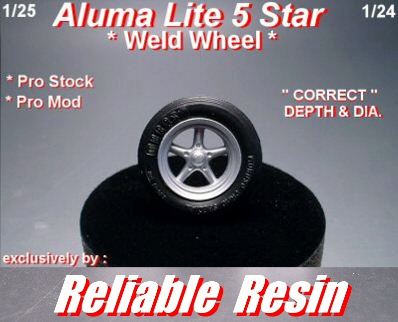 Aluma Lite 5 Star Weld Wheel