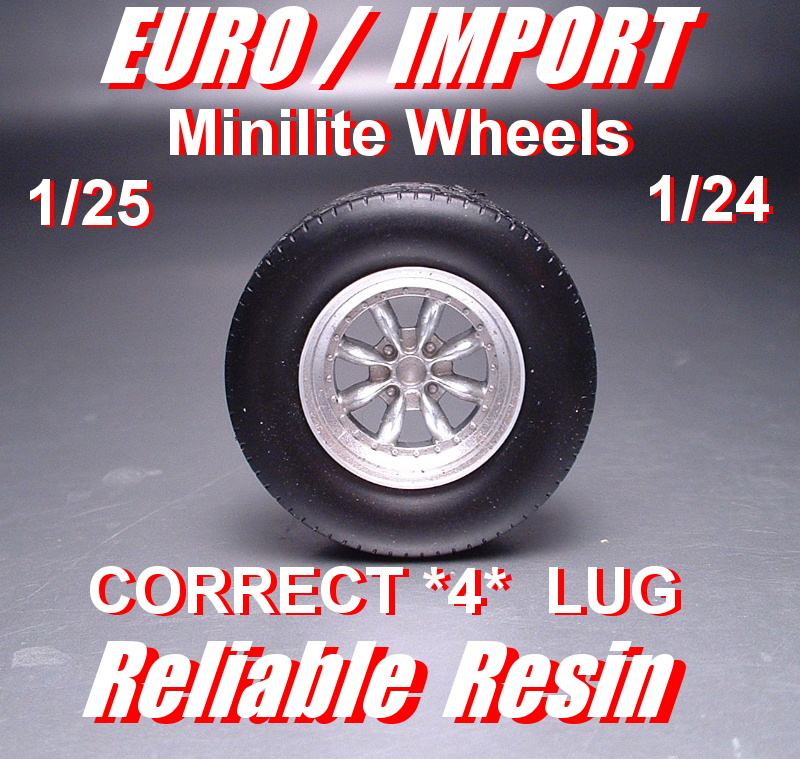 Euro/Import Minilite Wheels