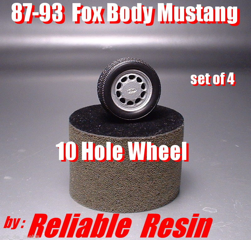 87-93 Fox Body Mustang 10 Hole Wheels
